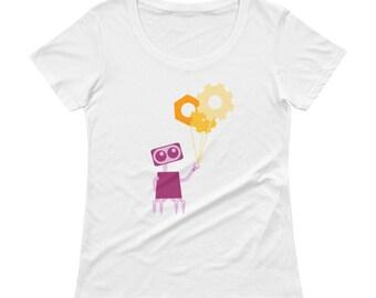 Robot Ballons T-shirt