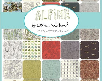 Moda Fabrics Alpine 32 Piece Fat Quarter Bundle by Erin Michael