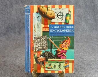 The Golden Book Encyclopedia C. 1960