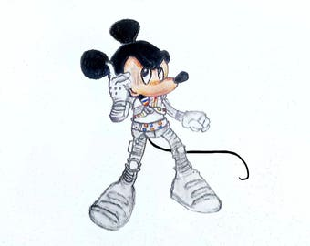 Disney Mickey Mouse [Captain EO] - Print