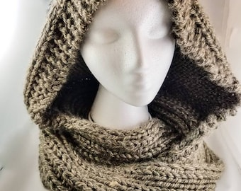 Montreal Hooded Infinity Scarf