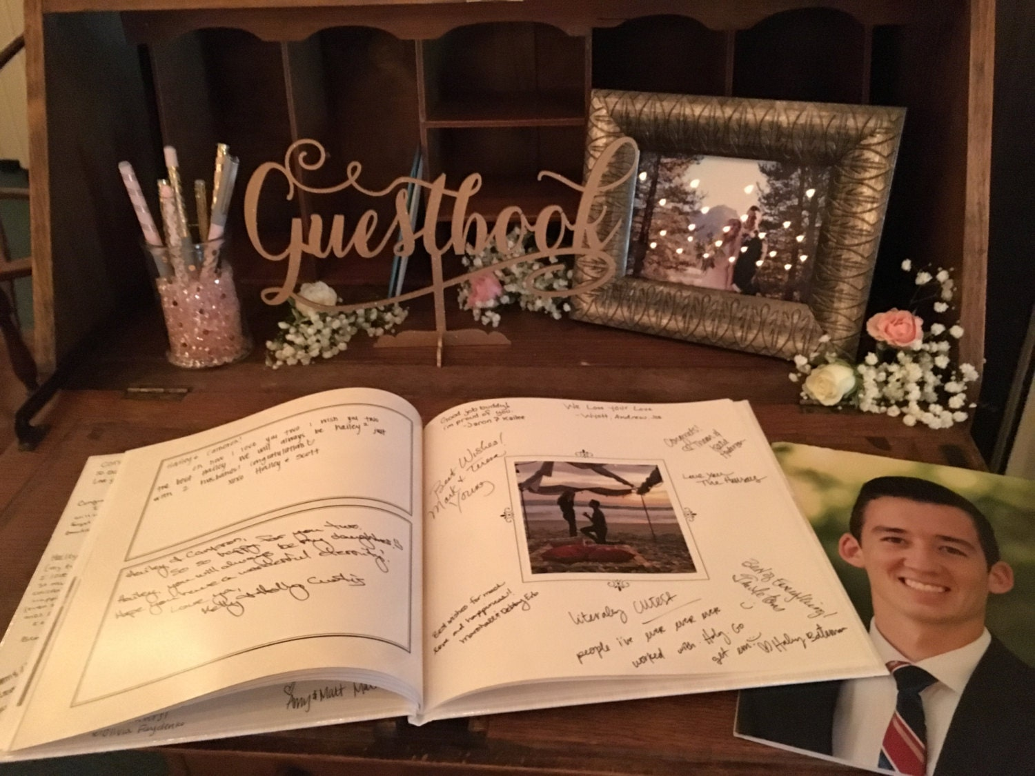 guestbook for wedding reception - Selo.yogawithjo.co