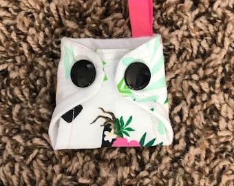 Basic Cloth Diaper Keychain