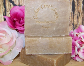 Brown Sugar Fig Cold Processed Soap Vegan Brown Sugar Fig Soap