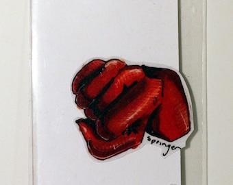 One Punch Man Hand-Made Custom Sticker