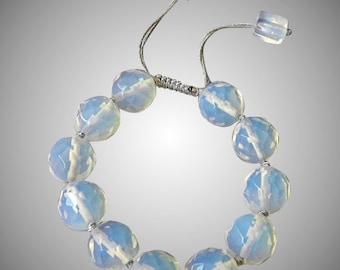 Opalite Bracelet, adjustable