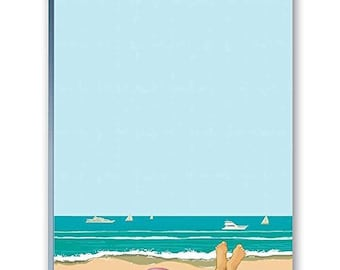 Beach View Note Pad - Set of 2 Notepads - 35036