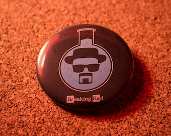 2.25 inch Breaking Bad Pin-back Button