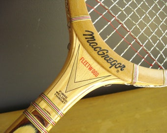 Love All - Vintage MacGregor Fleetwood Tennis Racquet