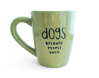Gift van de hond | Hond mok | Grote mok | Upcycled mok | Grappige mok | Sarcastische mok | Citeer mok | Keramische koffie thee mok | Vaderdag cadeau