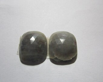 natural sapphire pair gemstone.