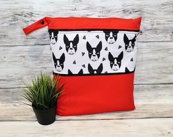 Boston Terrier carry bag