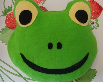 Felix the feel better frog microwaveable hot and cold packs