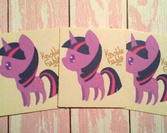 Chibi Twilight Sparkle Sticker