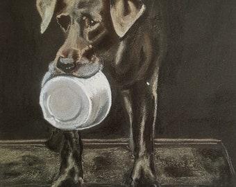 Welcome Home - Labrador print