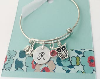Back to School Gift, First Day of School Gift, Starting School Bracelet, Book Lover Jewelry, First day of Kindergarten