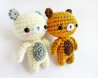 Amigurumi Crochet PDF Pattern - Little Bear