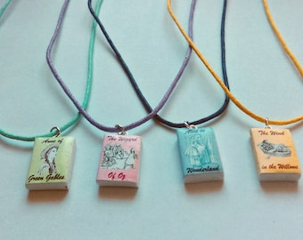 Classic children's literature handmade necklace (Choose from 4)