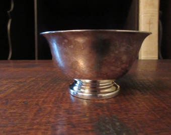 Vintage Reed and Barton Sterling Silver Small Footed Bowls