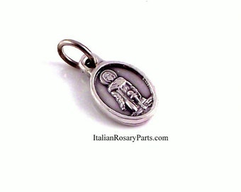 St Peregrine  Bracelet Medal Patron of Cancer Patients | Italian Rosary Parts