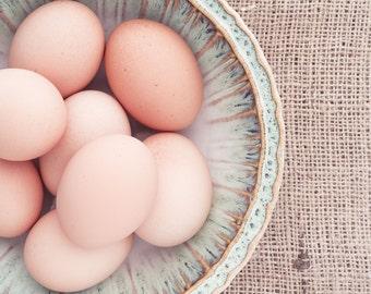Brown Eggs Still Life, Food Photography, Photo Print, Large Wall Art, Kitchen Decor, Dining Room Decor, Home Decor, Restaurant Decor