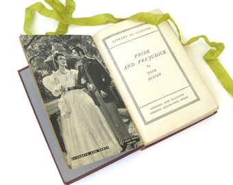 Pride and Prejudice by Jane Austen, Greer Garson and Laurence Olivier edition, Goldwyn Production Edition, 1940