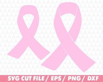 Breast cancer ribbon svg, Ribbon svg, Breast cancer svg, Breast svg, Cancer svg, Pink svg, Ribbon Cricut, Breast cancer cricut