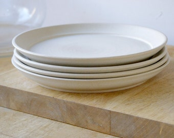 Made to order - A set of six custom dinner plates for your dinner table