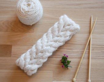 Cable knit Headband set