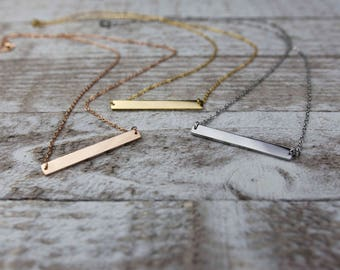 Stainless steel bar necklace blanks, bar necklace supplies, stainless steel chain, stainless steel connector bar, necklace supplies G42520
