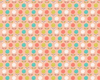 Dashwood Studio Fablewood Collection,Buds and Blooms Print Cotton Fabric, Patchwork & Quilting Fabric - Fat Quarter