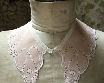 Exquisite! French Antique Handmade Lace Collar