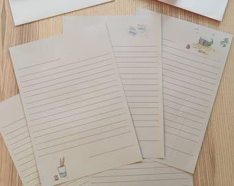 Cadeau de Noël - Papiers à lettres et enveloppes LIVRAISON GRATUITE