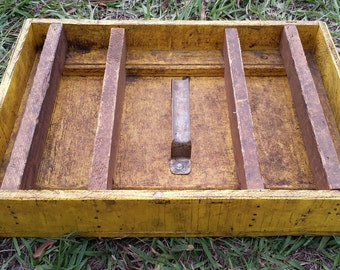 Vintage Carpenters Open Style Toolbox