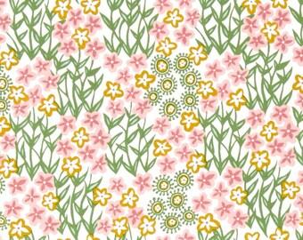 54067 - 1/2 yard of Joel Dewberry Cali Mod   Fantasy flora in cactus