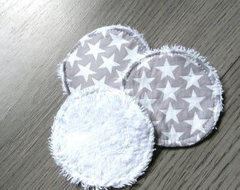 Washable cotton pads set