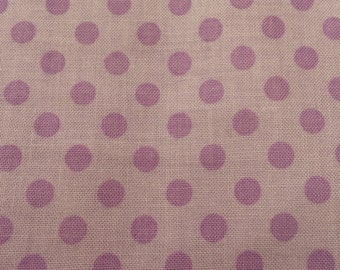 Riley Blake Lavender w/Purple Dot Fabric  368