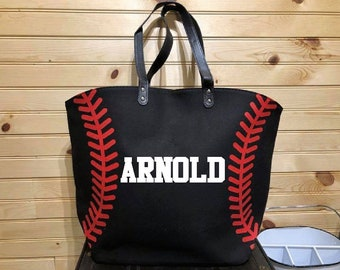 Baseball Tote Bag;Baseball Mom;Mom Gift;Custom Tote Bag;Personalized Tote;Team Mom;Baseball Gift;Sports Gift;Carry Bag;Sport Tote Bag