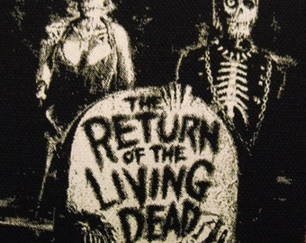 RETURN of the LIVING DEAD patch horror punk Free Shipping
