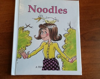 Noodles A Ten Word Book 1993 Story by Bob Reese and Pam Preese Sandoval pictures by Bob Reese vintage children's early reading book