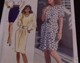 Butterick Ronnie Heller Dress Sewing Pattern, Size 14, #6282