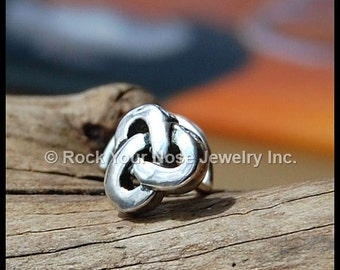 Celtic Knot Nose Stud - CUSTOMIZE