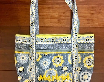 Farmers Market lined bag 4x14x15 inches with 26inch handle, 20 each, three available