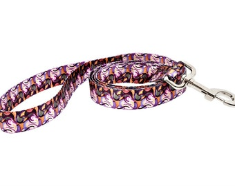 Van Heemskerck Bild 84 Fashion Dog Leash - 5ft. Made From Recycled Webbing