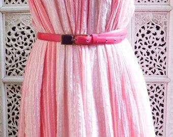 70s smock dress, one size.