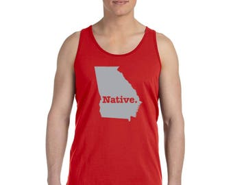 Georgia Native State - Men's Tank Top