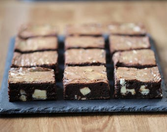 White Gold Chocolate Brownies