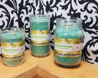 Woodland Foliage - 100% Soy Wood wick Candles