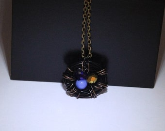 Fall Nest Necklace