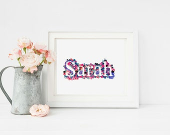 Quilling Custom Name, Custom Quilled Name, Personalized Gift For Couple, Nursery Art, Personalized Nursery Art, Paper Quill Name Wall Art